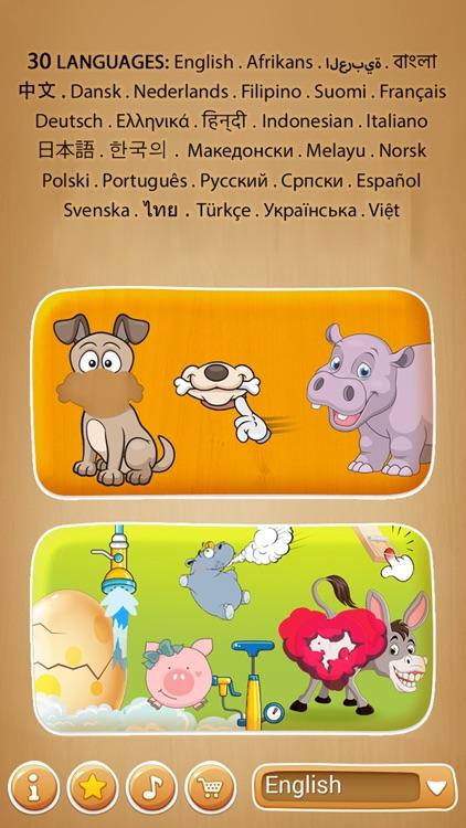 Animals Puzzle and fun games screenshot-0