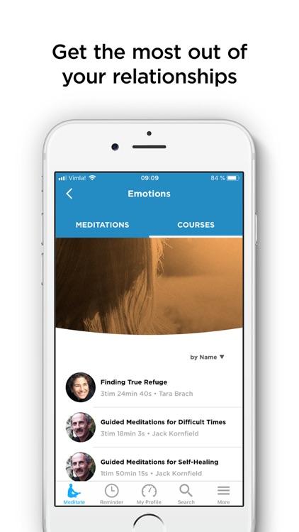 The Mindfulness App - meditate screenshot-5