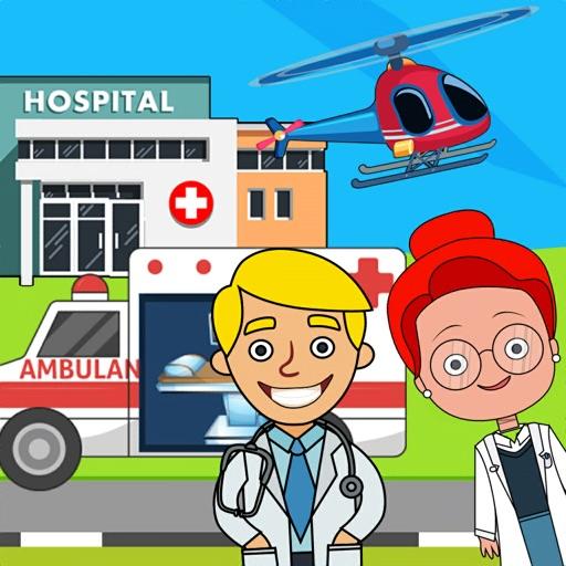делать вид мой город больница
