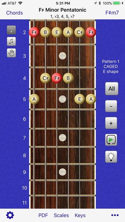 Guitar Scales & Chords Power screenshot-0