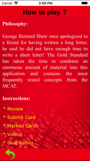 Gold Standard MCAT Biology on the App Store