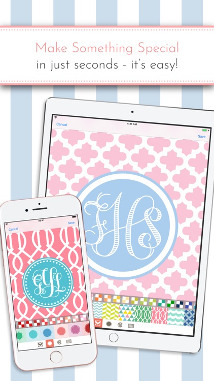 Monogram It! Lite screenshot-1