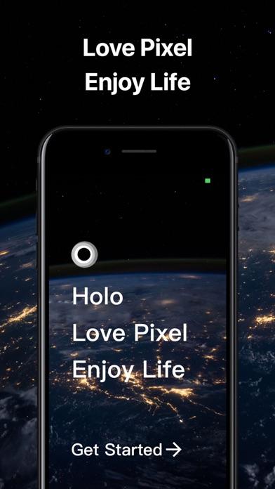 Holo Wallpaper Screenshots