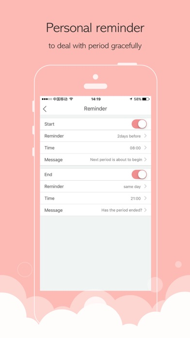 Luna Period Tracker:Menstrual calendar of my cycleのおすすめ画像5
