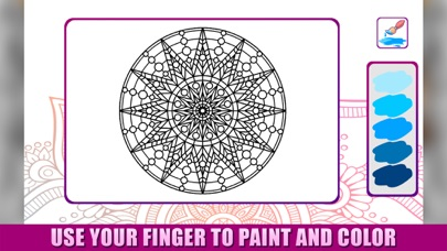 Easy Animals: Mandala Coloring screenshot two