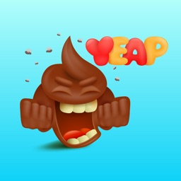 Poopy - Funny Poop Emoji Text Moji Chat Stickers