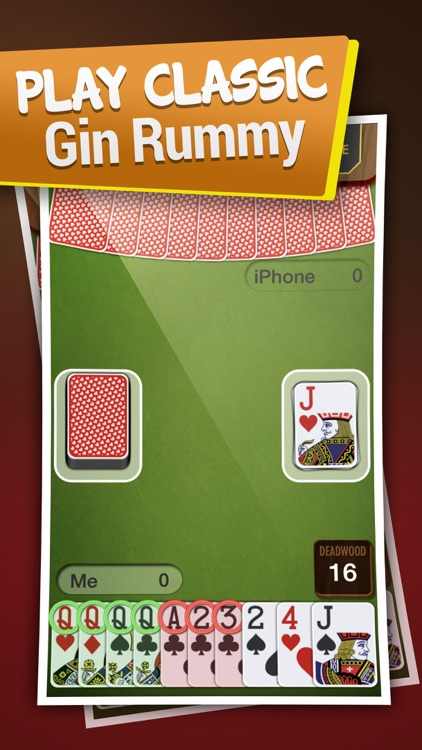 Gin Rummy Best Card Game screenshot-0