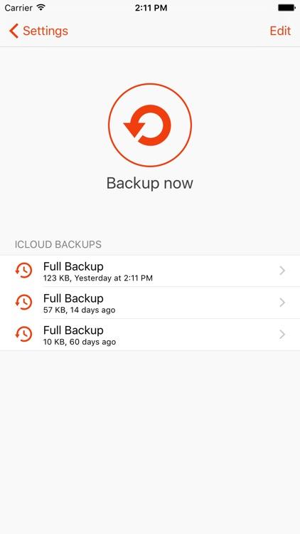 Lock Notes Pro screenshot-4