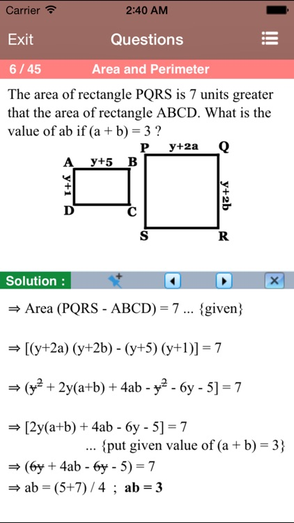 Geometry for the ACT ® Test screenshot-3