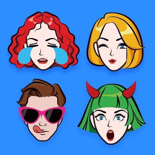 Emoji Me Keyboard | Zmoji application logo