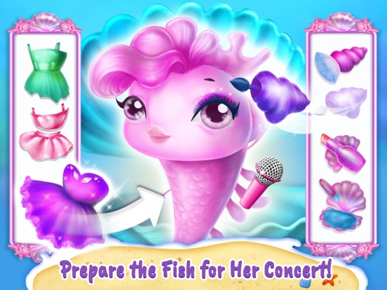 Sweet Baby Girl Mermaid Life screenshot 10