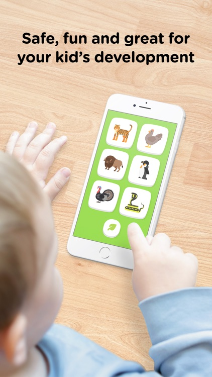 Zoo Sounds – Safe Toddler Fun screenshot-0