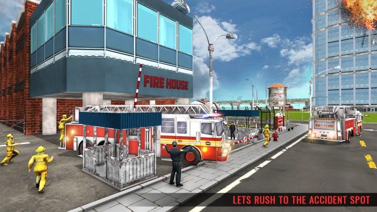 Fire Truck Driving Simulator screenshot-3