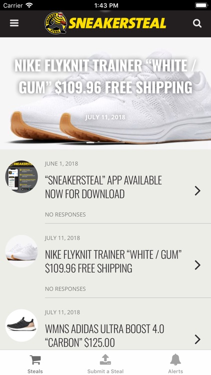 SNEAKERSTEAL screenshot-0