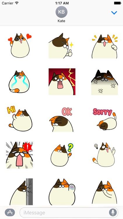 Animated Cat Catmoji Sticker