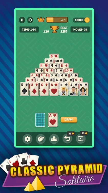 Classic Solitaire Pyramid screenshot-0