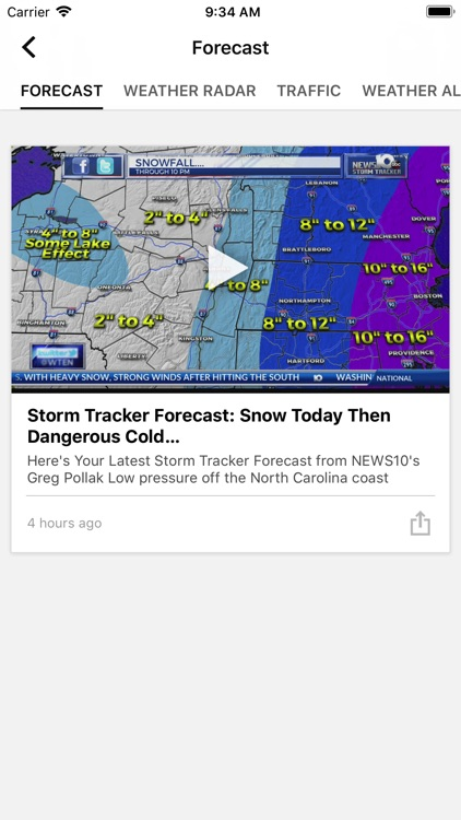 WTEN Storm Tracker - NEWS10 screenshot-1