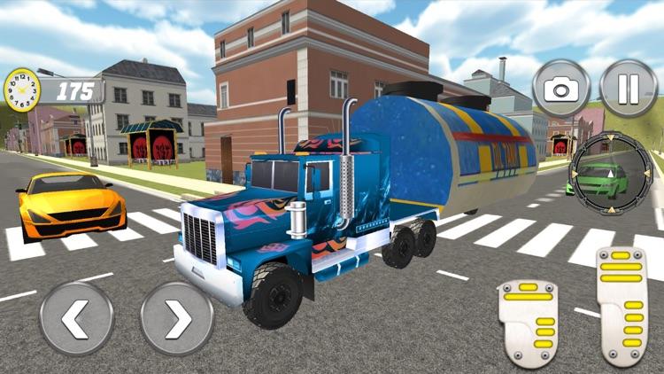 Oil Tanker Truck Drive 2018 screenshot-4