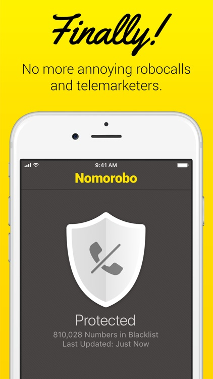 Nomorobo Robocall Blocking screenshot-0