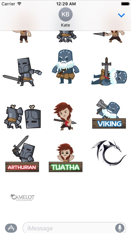 Camelot Unchained Animated Stickers