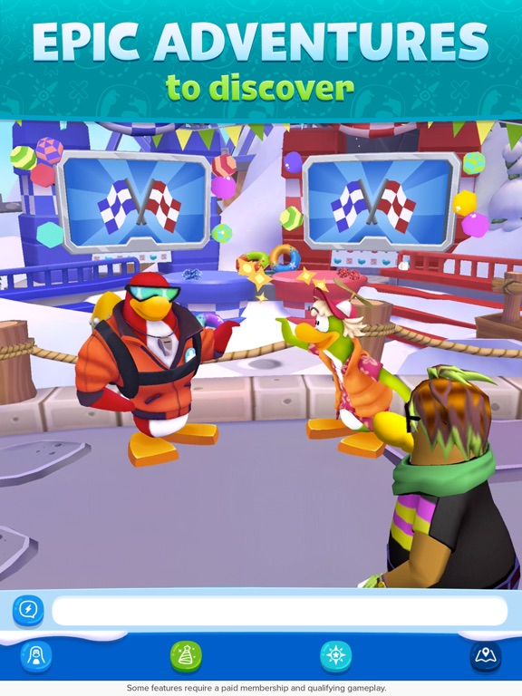 Club Penguin Island iPad