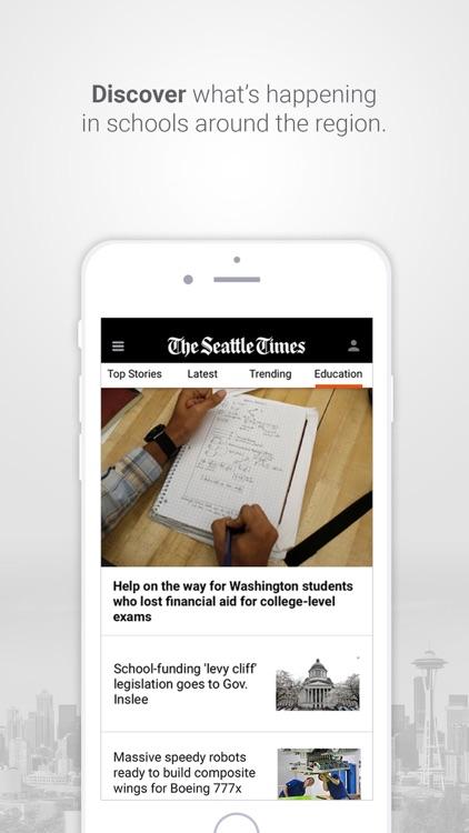Seattle Times Mobile screenshot-3