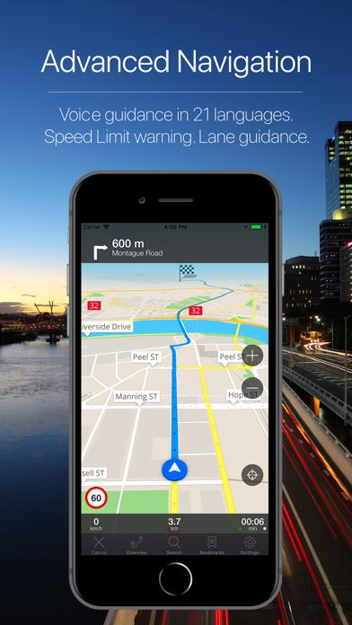 Screenshot for Queensland Offline Navigation in Kazakhstan App Store