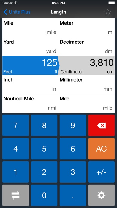 Units Plus Converter screenshot1