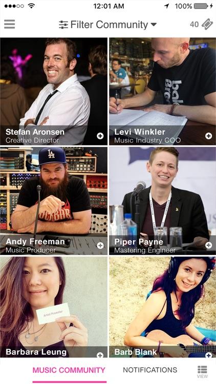 BB: Music Industry Meetup screenshot-0