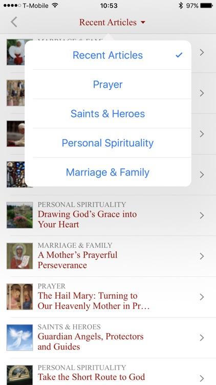 The Word Among Us Mass Edition screenshot-4