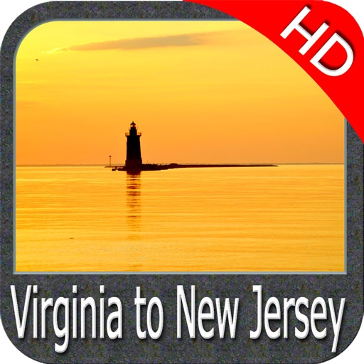 Virginia - New Jersey HD chart