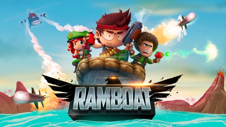 RAMBOAT - Shooter and Runner screenshot-4