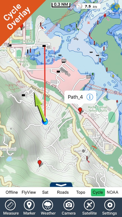 Seychelles HD GPS charts screenshot-2