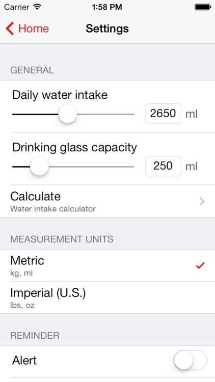 WaterTrakr // The Water Intake Tracker