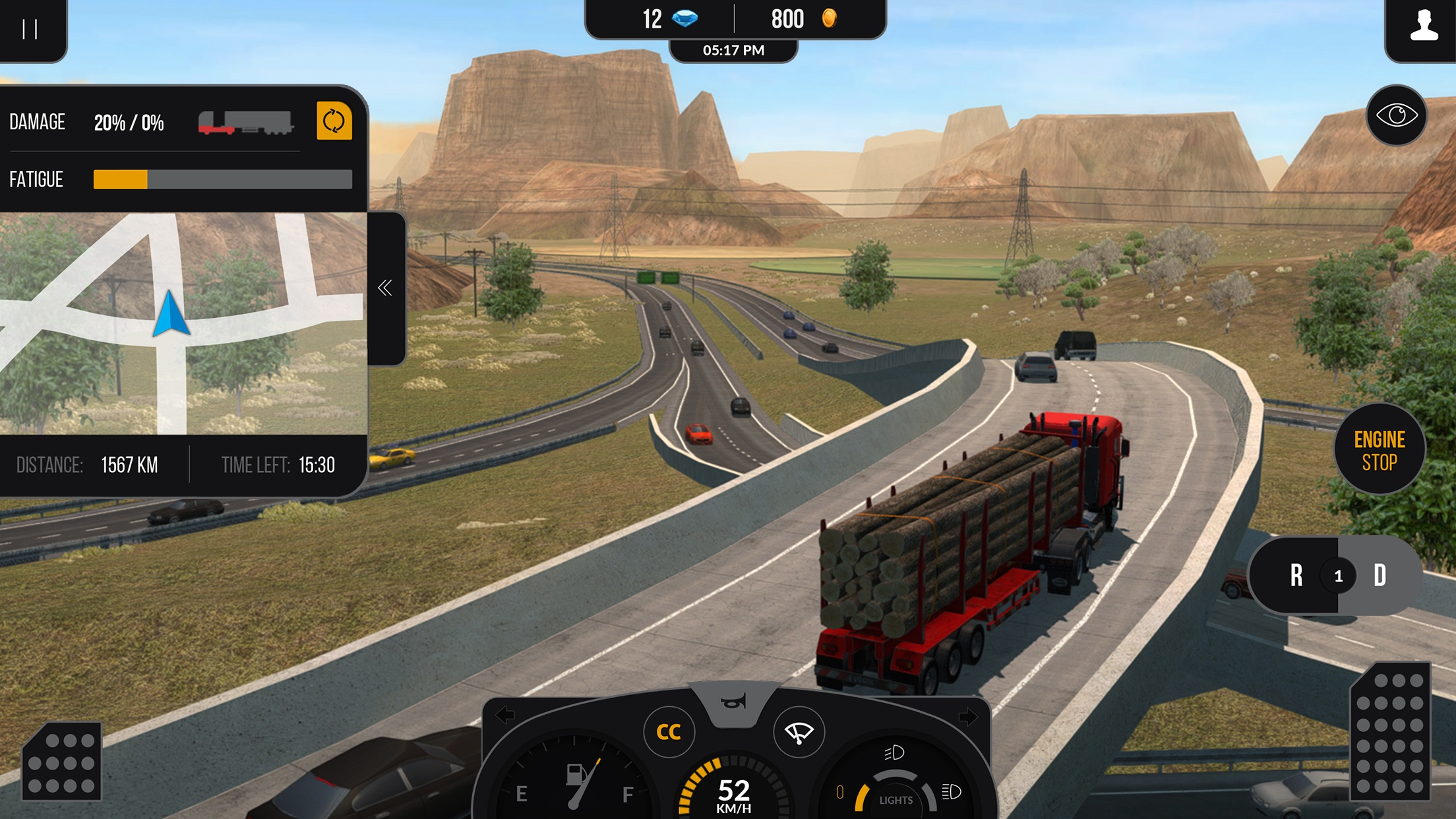 Truck Simulator PRO 2 Screenshot