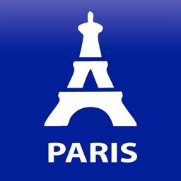Paris travel map guide 2018