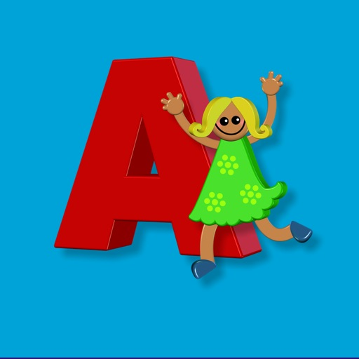 Girl Alphabet Sticker Pack