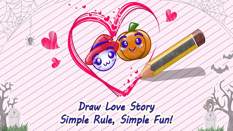 Love Story : Draw Physics Line