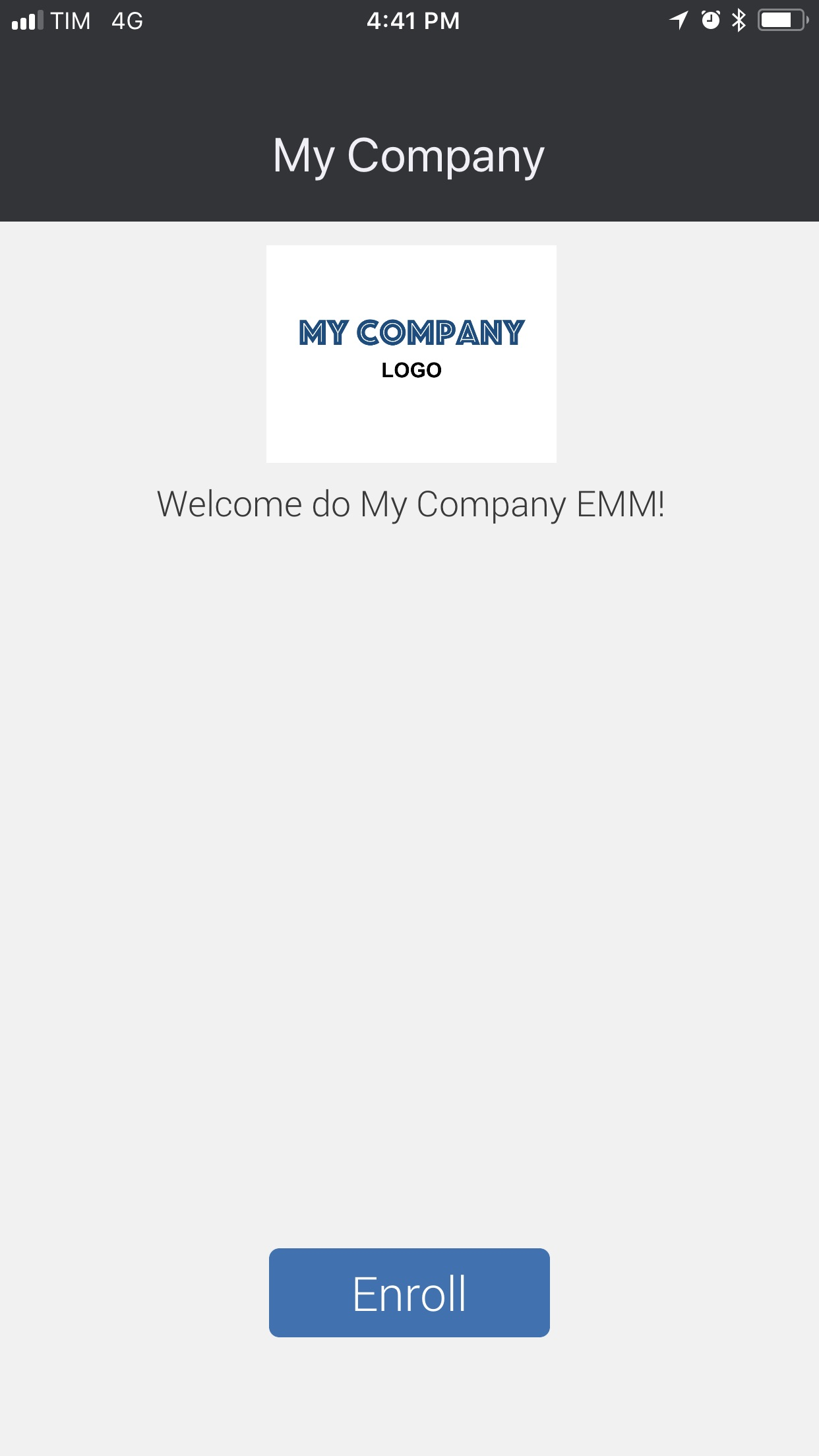 Samsung SDS IAM&EMM Screenshot
