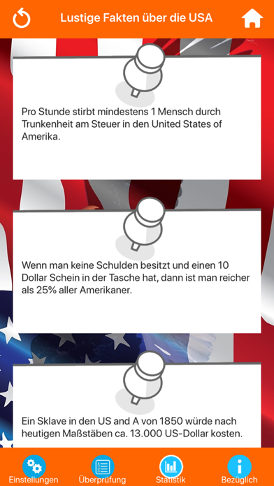 USA Wissenstest Quiz screenshot 3