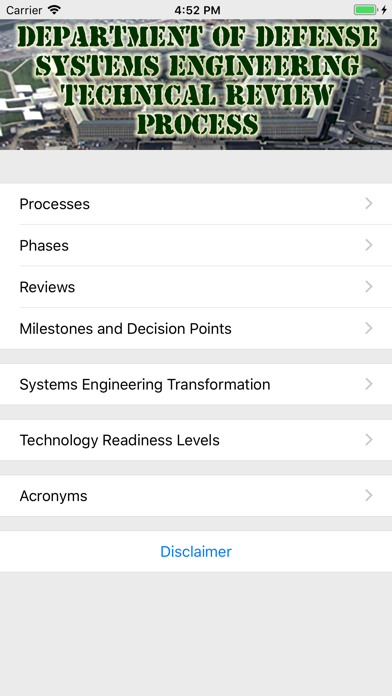 DoD Systems Engineering screenshot one