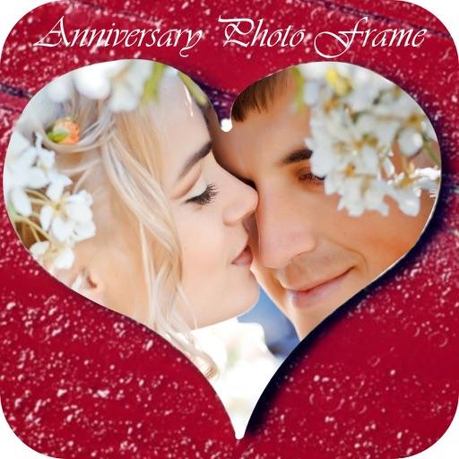 Anniversary Photo Frame - Love Photo Effect