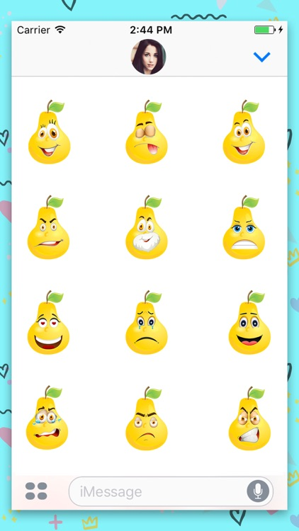 Crazy Pear : Animated stickers