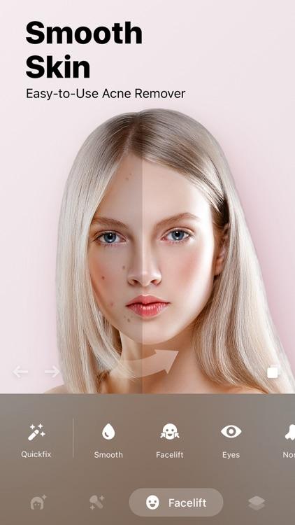 Facey: Face Editor &Makeup Cam screenshot-5