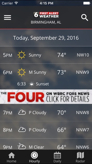 download WBRC First Alert Weather apps 0