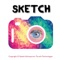 Sketch It - Secret Camera with real time drawing