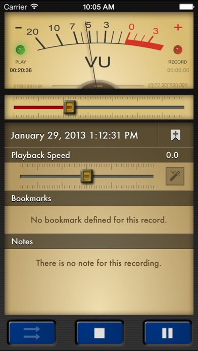 Voice Record Pro iPhone