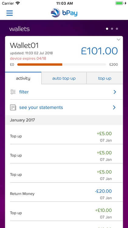 bPay screenshot-1