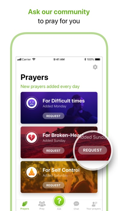 Faith In Us - Prayer Community app image