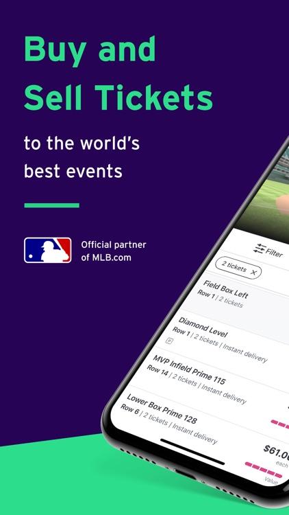StubHub - Mobile Event Tickets screenshot-0